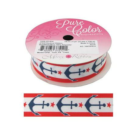 Morex Ribbon Nautical 7/8