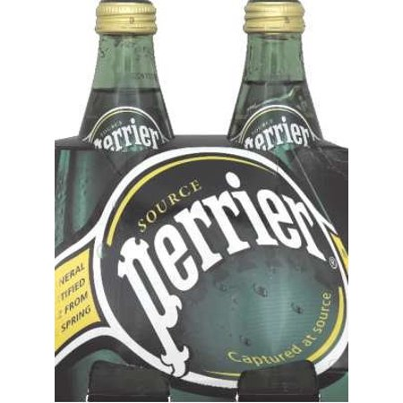 Perrier Sparkling Natural Mineral Water, Original, 11.1 Fl Oz, 24 Count