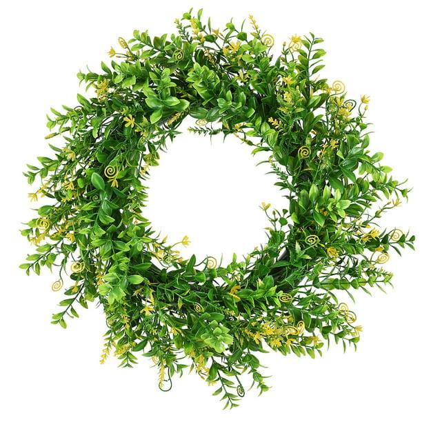 Greenery Farmhouse Wreath