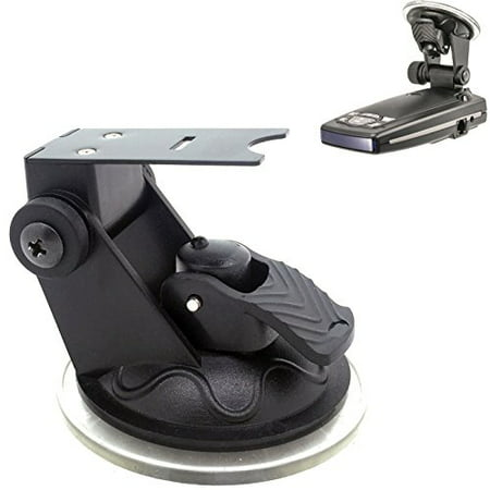 ChargerCity Car Windshield Strong Suction Cup Mount Radar Detector Holder for Escort Passport 9500ix 9500 8500 8500x50 x55 7500 S55 s75 s75g Solo S3 S4 Beltronics GX65 RX65 Vector Radar Detectors (Radar Detector Escort Passport)
