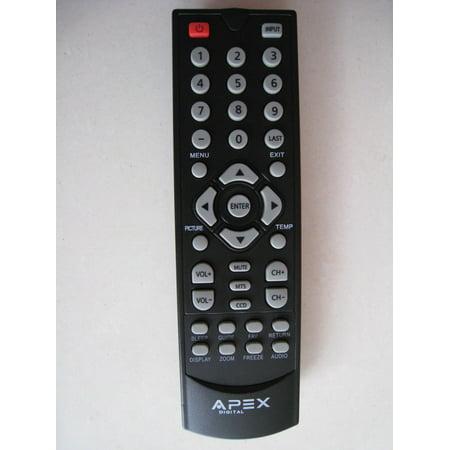 APEX LD50RM Remote Control for APEXvLED TV HDTV LE1912 LE1912D LE2412D ()