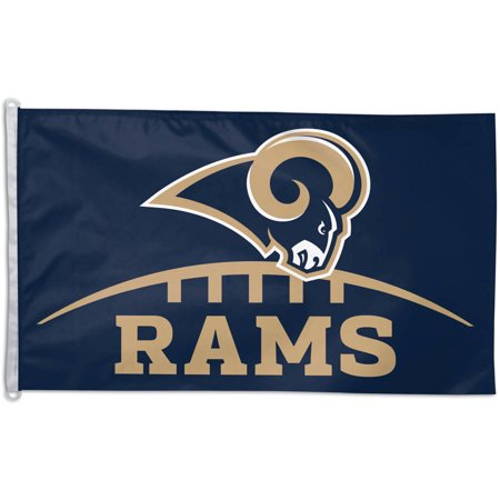 Rams Flag - NFL St. Louis Rams Team Flag, 3' x 5', Style 2 - Generic Brand