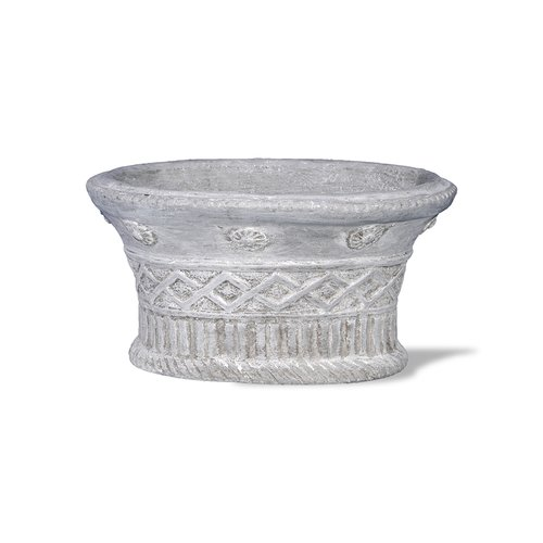 Amedeo Design Mediterranean Resin Stone Urn Planter