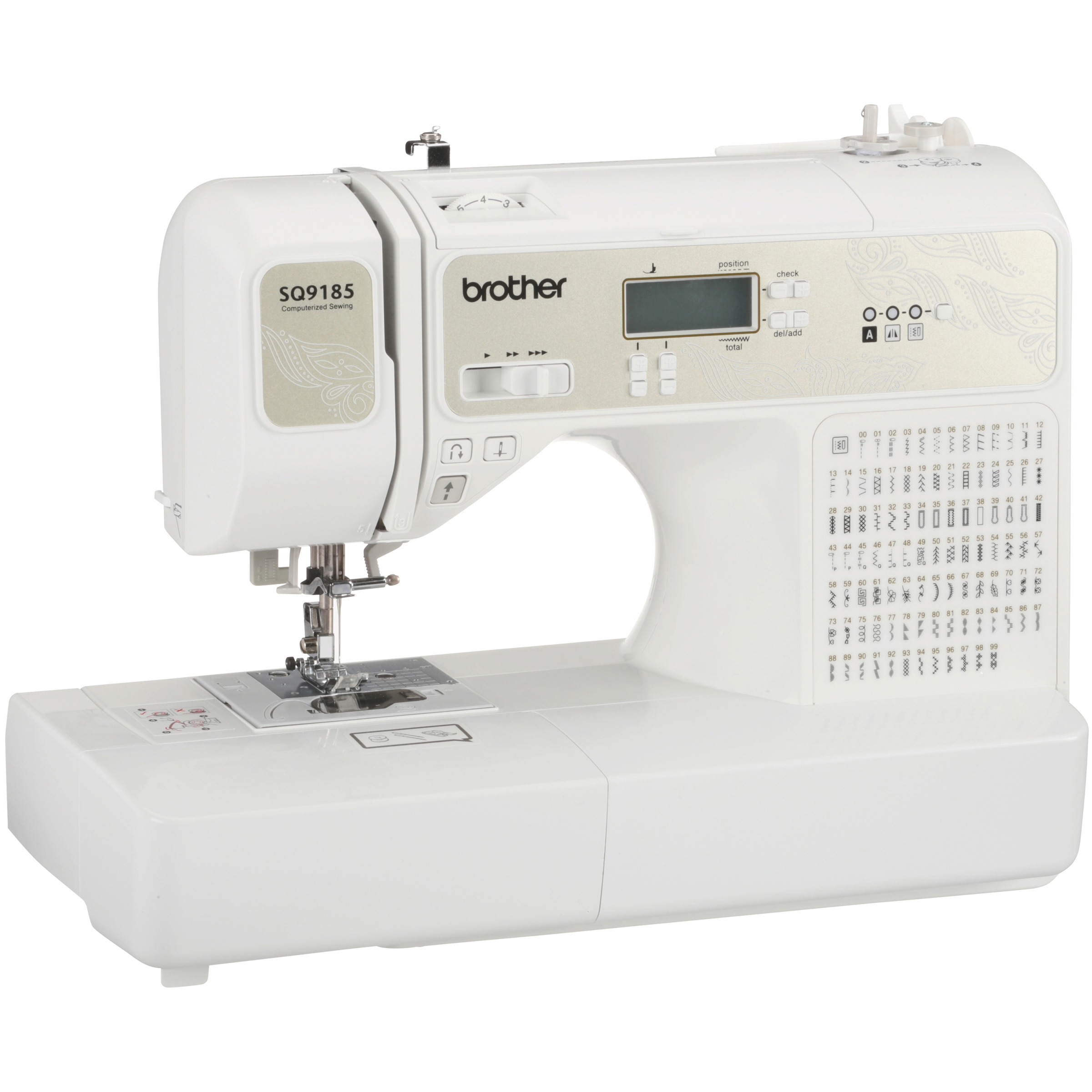 Brother Factory Remanufactured Computerized Sewing & Quilting Machine Box