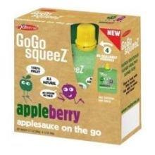 12 packs Gogo Aplsce Appleberry 12.8 Oz Each
