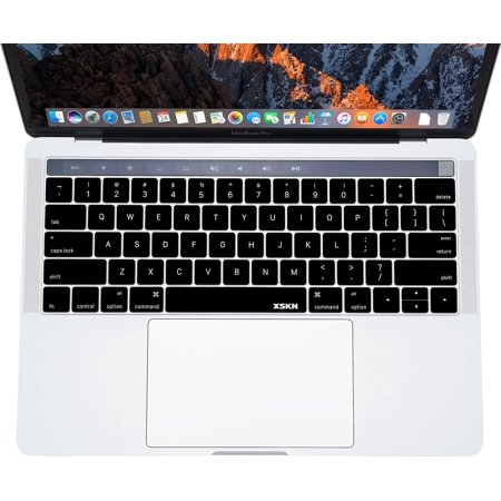 """XSKN Touch Bar US English Durable Silicone Keyboard Skin Cover and Protector Film Gift for MacBook Pro 13"""" MacBookPro - image 2 of 5"""
