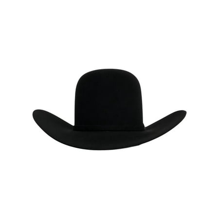 American Cowboy Hat Mens Felt 7X Open Crown 4 1/4 Brim - Cheap Cowboy Hats For Men