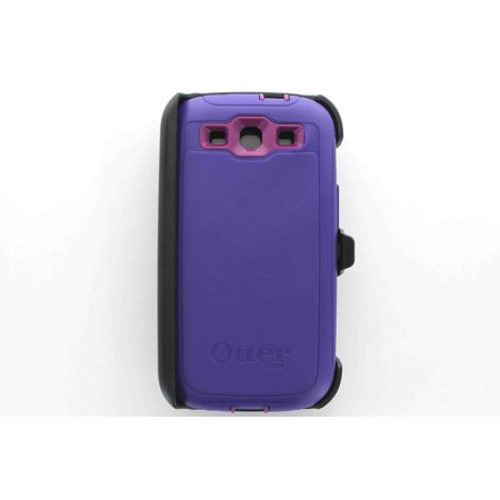 buy popular 0631e 7c690 OtterBox Defender Case for Samsung Galaxy S3 III Purple Boom * OEM ...