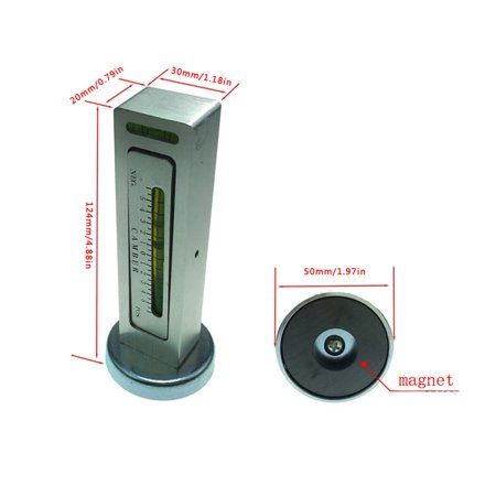 Car Alignment Magnetic Level Gauge Camber Setting Aid Tool Positioning Tool - image 3 de 6