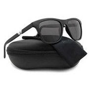 Police S1800M Drift 3 Polarized Sunglasses Matte Black w/Crystal Grey (703P) 1800 703P 53mm Authentic