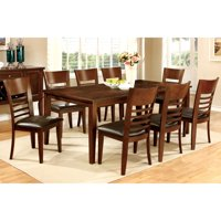 Furniture of America  Yons Contemporary Cherry 9-piece Dining Set