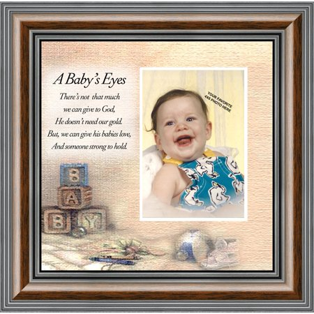 A Babys Eyes Gift For Baby Shower Personalized Picture Frame For