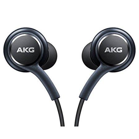 Akg K701 Headphones - Official Galaxy S8/S8+ In-Ear Headphones [EO-IG955BSEGWW], Tuned by AKG, Remote + Mic Hands-free Earphones - Titanium Grey (No Retail Packaging)