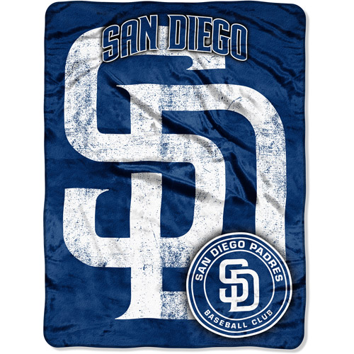 "MLB Triple Play 46"" x 60"" Micro Throw, San Diego Padres"