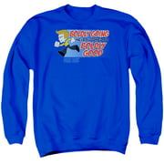Quogs Boldly Good Mens Crewneck Sweatshirt