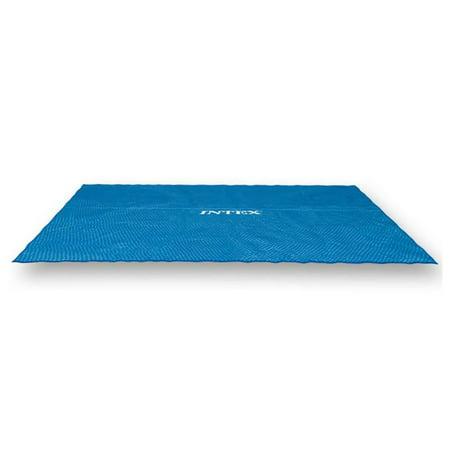 Intex 9 x 18 Foot Rectangular Solar Frame Set Swimming Pool Cover | 29026E