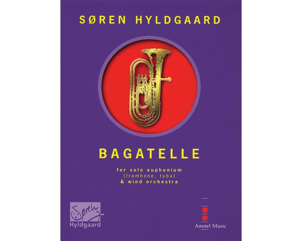 De Haske Music Bagatelle (for Euphonium & Wind Orchestra) (Score Only) Concert Band... by De Haske Music