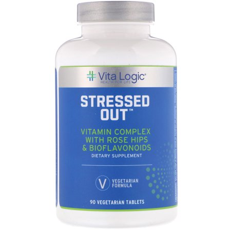 Vita Logic  Stressed Out  90 Vegetarian Tablets
