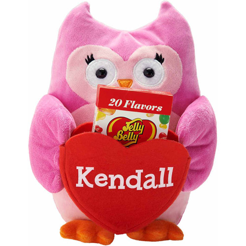 Personalized Deluxe Plush Pocket Pal, Owl