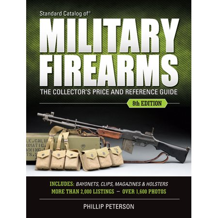 Brochure Catalog Guide - Standard Catalog of Military Firearms : The Collector's Price & Reference Guide