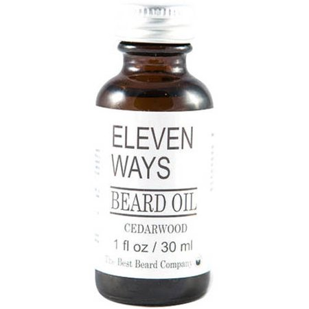 The Best Beard Company Eleven Ways Cedarwood Beard Oil, 1 fl (Best Way To Shave Scrotum)