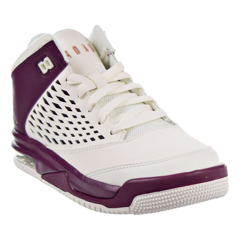 Jordan Flight Origin 4 (GG) Big Kids Shoes Sail/Bordeaux 921200-112