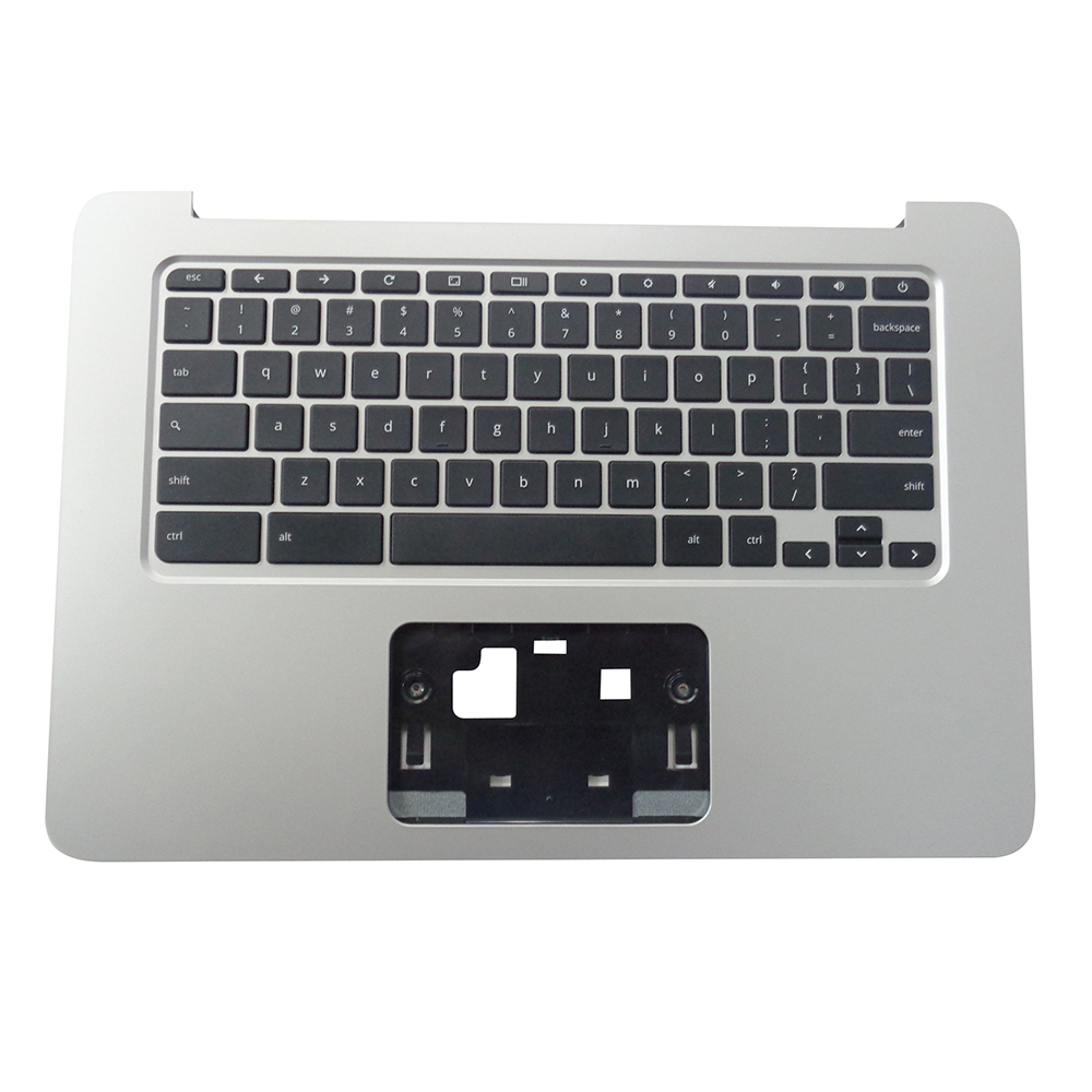 HP Chromebook 14 G4 Silver Palmrest & Keyboard 834913-0011