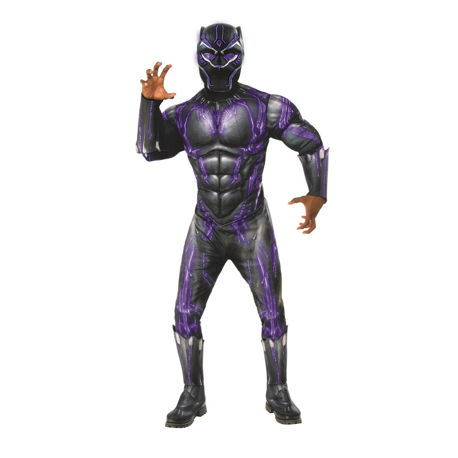Deluxe Black Panther Battle Mask Halloween Costume Accessory