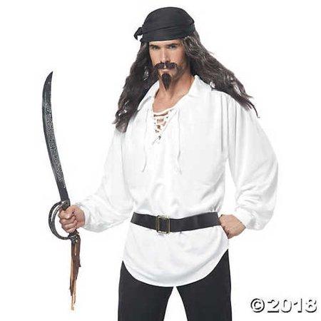 Pirate Wig & Facial Hair - Pirate Facial Hair