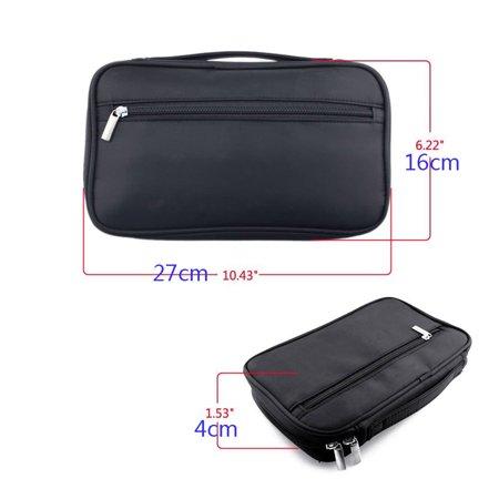 c978b850f3 DZT1968Pro Makeup Brush Bag Cosmetic Tool Brush Organizer Holder Pouch  Pocket Kit - Walmart.com