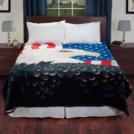 Sleeping Partners Pink Blanket (Lavish Home Heavy Thick Plush Mink Blanket,)