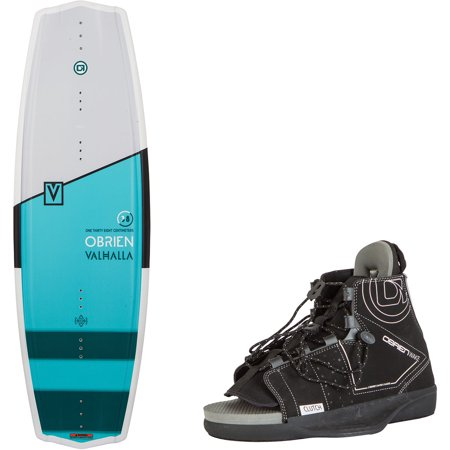 O'Brien Valhalla 133 Centimeter Wakeboard Package and Clutch Small Boot