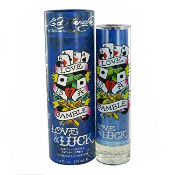 Love and Luck By Christian Audigier 3.4 oz Eau De Toilette Spray for Men