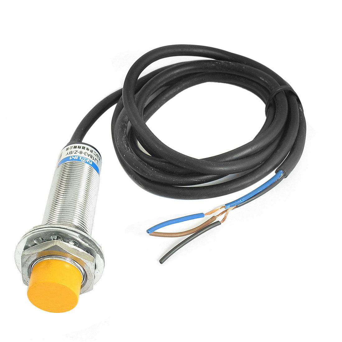 DC 6-36V PNP NO 8mm Inductive Proximity Sensor Detection Switch LJ18A3-8-Z/BY