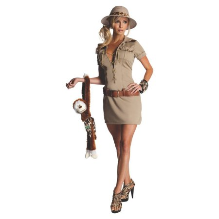 Halloween Tarzan Jane As The Hunter Adult Costume (Adult Tarzan Costume)