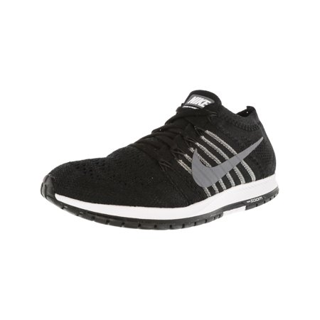 Nike Flyknit Streak Black / Dark Grey White Low Top Running Shoe - 13M 11.5M - image 5 de 5