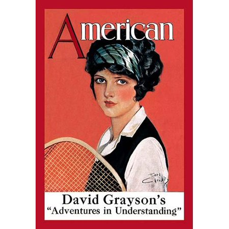 September 1924 Magazine cover illutsrated by F Earl Christy showing a girl with a tennis racket Poster Print by F Earl Christy