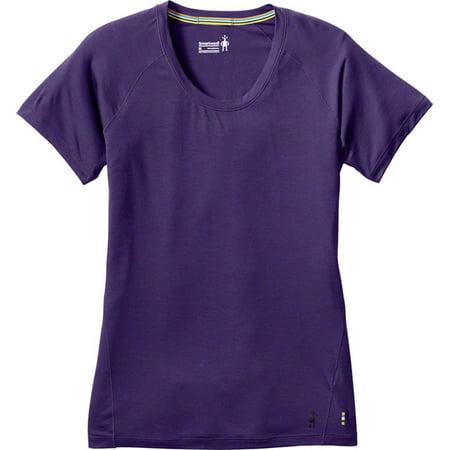 09e88779 Smartwool Merino 150 Women's Short Sleeve Base Layer Top Mountain Purple SM  - Walmart.com