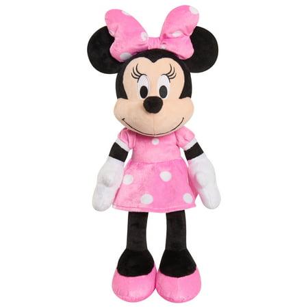 Plush Minnie Mouse (Disney Minnie Mouse Plush)