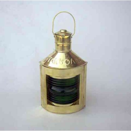 Lantern Accent Lamp (starboard (green) Ship Lantern with Oil Lamp Nautical Accents)