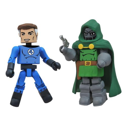 Marvel Minimates Best Of S2 Figure 2-Pack: Mr. Fantastic/Dr. Doom