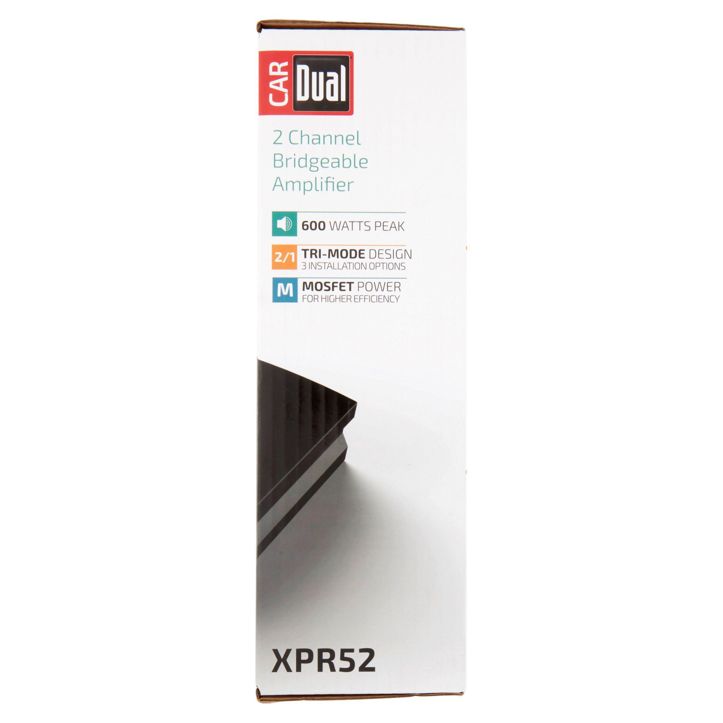 Dual Xpr52 2 Channel Bridgeable Amplifier Alpine Amp Bridged Wiring Diagram
