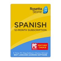 Rosetta Stone Spanish 12-Month Subscription on iOS, Android, PC, and Mac [Activation Code by Email]