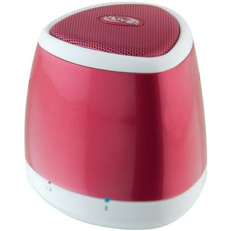 iLive ISB23R Speaker System - Battery Rechargeable - Wireless Speaker[s] - Red