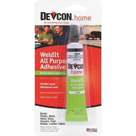 Devcon Weld-It All Purpose Waterproof Household Cement 1 OZ 18245