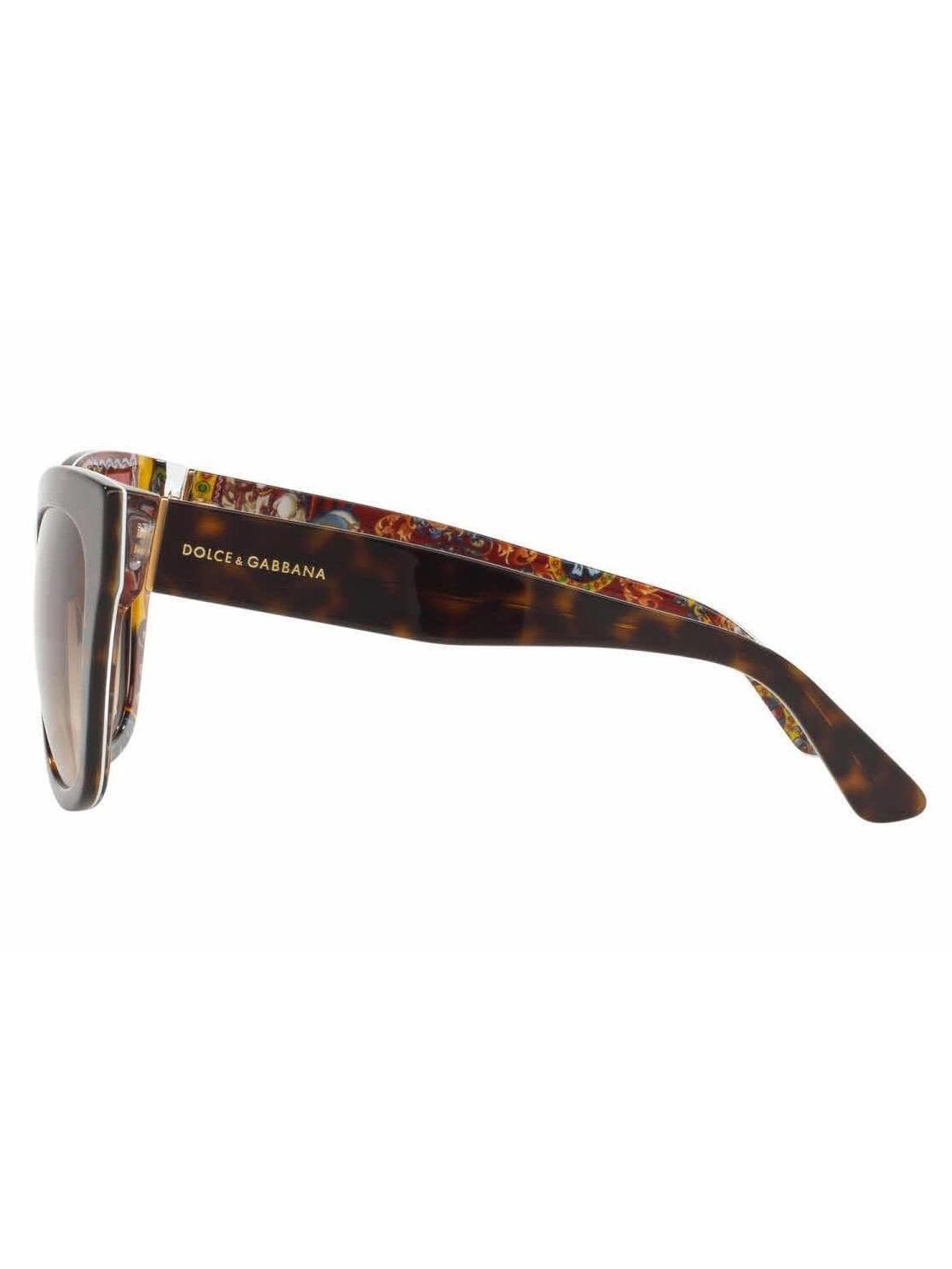 875a4a8145 Dolce   Gabbana - DOLCE   GABBANA Sunglasses DG 4270 303713 Top Havana  Handcart  55MM - Walmart.com