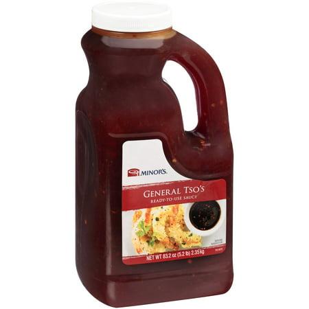 Minor's General Tso's Sauce 83.2 oz. Plastic (Best General Tso Sauce Brand)