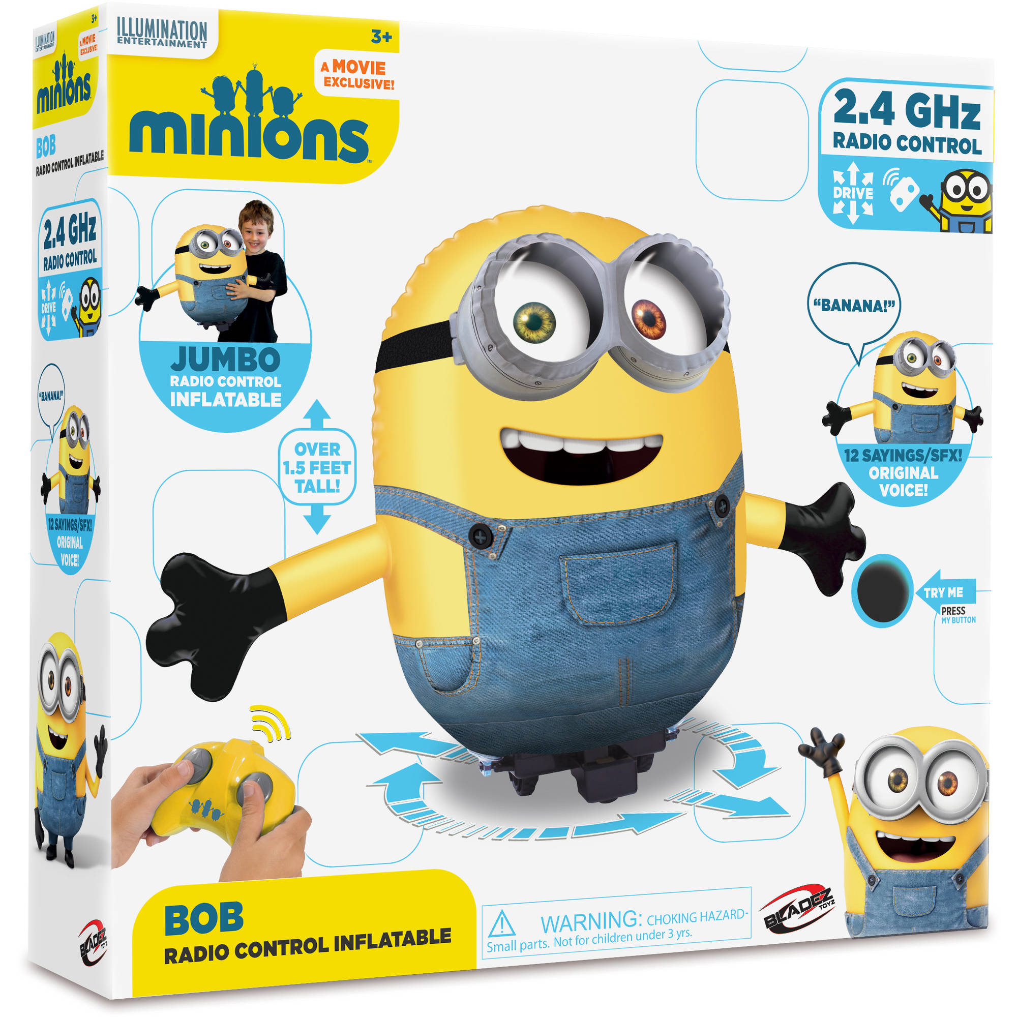 R C Inflatable Minion, Bob by Generic