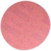 3M 1224 P120A Red Abrasive Hookit Disc, 6 In, P120, 50 Discs per Box