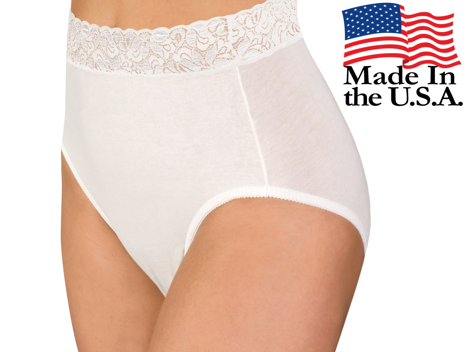 0ea521a5db21 3-Pack Wearever Women's Lace Trim and Cotton Incontinence Panties - Washable  Reusable Bladder Control Underwear - Pack of 3 - Walmart.com